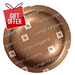 Nespresso Lungo Leggero - Tube Of 30 Coffee Capsules