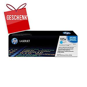 Toner HP CB541A, Reichweite: 1.400 Seiten, cyan