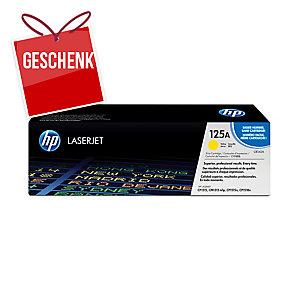 Toner HP CB542A, Reichweite: 1.400 Seiten, gelb