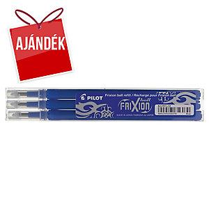 Pilot Frixion pót tollbetét, kék, a hegy átméroje: 0,7 mm, 3 darab/csomag