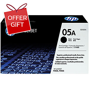 HP CE505A ORIGINAL LASER CARTRIDGE BLACK