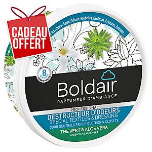 Désodorisant gel Boldair destructeur d odeurs - thé vert & aloe vera - 300 g