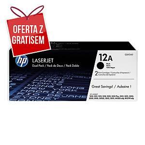 Toner HP 12A Q2612AD czarny, dwupak