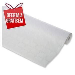 Obrus papierowy w roli DUNI 1,2 x 25 m, biały