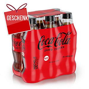 Coca-Cola Zero 50 cl, Packung à 6 Flaschen