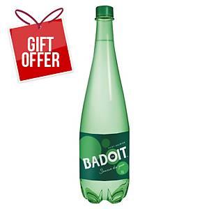 PK6 BADOIT WATER BOTTLE GREEN 1L