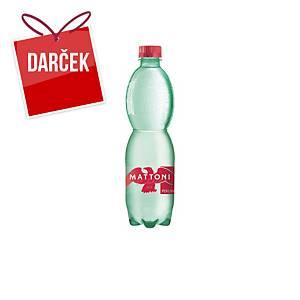 Minerálna voda Mattoni, perlivá, 0,5 l, balenie 12 kusov
