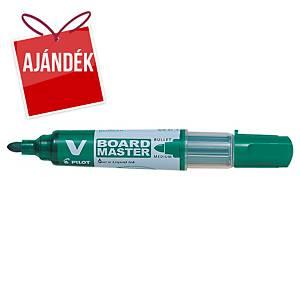 Pilot Begreen V-Board Master marker fehértáblához, zöld