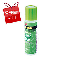 SCOTCH CLEAR LIQUID ADHESIVE GLUE 40ML