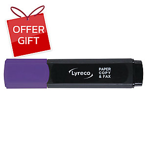 LYRECO HIGHLIGHTER - PURPLE
