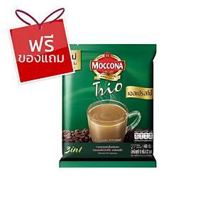 MOCCONA TRIO กาแฟ 3IN1 เอสเปรสโซ 18 กรัม 27 ซอง