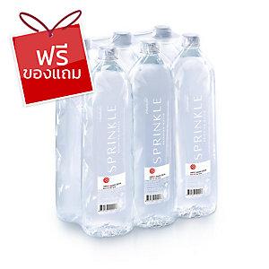 SPRINKLE น้ำดื่ม 1.5 ลิตร แพ็ค 6 ขวด
