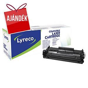 LYRECO kompatibilis toner faxkészülékekhez CANON FX-10 (0263B002) fekete