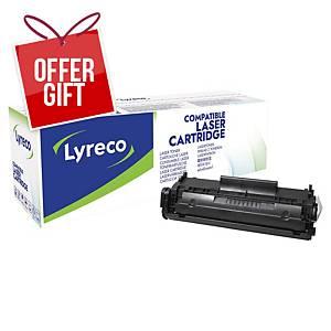 LYRECO FAX CARTRIDGE CANON COMPATIBLE FX10 - BLACK