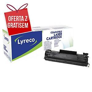 Toner LYRECO zamiennik HP 36A CB436A czarny