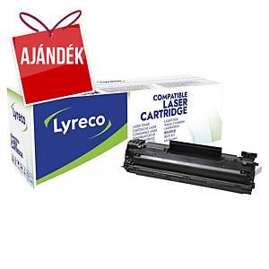 LYRECO komp. toner HP 35A (CB435A)/ CANON CRG-712 (1870B002) fekete