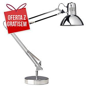 Lampa LED UNILUX SUCCESS, srebrna