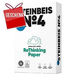 Kopierpapier Steinbeis Evolution White A4, 80 g/m2, weiss, Pack à 500 Blatt