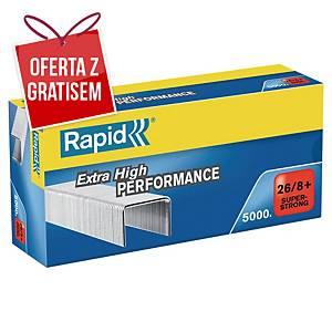 Zszywki RAPID 26/8+, w opakowaniu 5000 sztuk