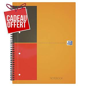 Cahier spirale Oxford Notebook A4+ - 160 pages - ligné