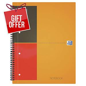 Oxford International Notebook A4+ ruled 80 pages