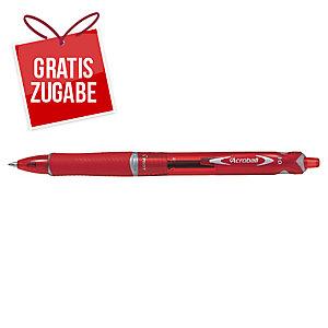 Kugelschreiber Pilot 2067 Acroball, Strichstärke: 0,4mm, rot