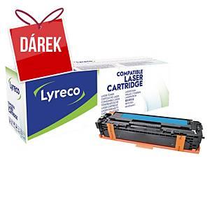 LYRECO kompat. laserový toner HP 125A (CB541A)/ CANON CRG-716 (1979B002), cyan