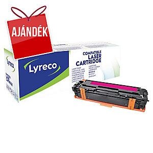 Lyreco kompatibilis HP CB543A/ Canon 716 M toner lézernyomtatókhoz, magenta