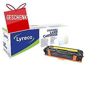 Toner Lyreco kompatibel mit HP CB542A/ Canon 716 Y Reichweite: 1.400 S, gelb