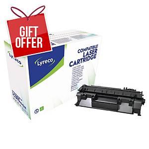 Lyreco Laser Cartridge Hp Compatible Lj P2035 Ce505A - Black
