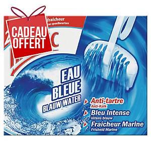 Bloc anti-tartre WC Harpic Eau Bleue - fraîcheur marine - boîte de 2