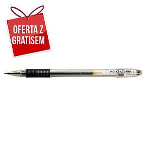 Długopis żelowy PILOT G-1 Grip, czarny