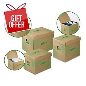 PK10 EMBA STORAGE BOX 330X300X240 BRWN