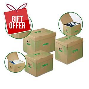 PK10 EMBA STORAGE BOX 400X330X295 BRWN
