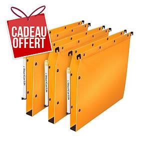 Dossier suspendu pour armoire Elba Ultimate - PP - dos 30 mm - jaune - par 10