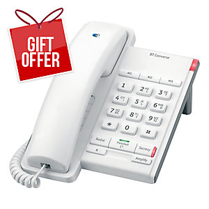 BT CONVERSE 2100 TELEPHONE WHITE