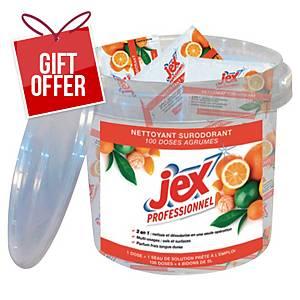 BX100 JEX PRO FLOOR CLEANER DOSIS CITRUS