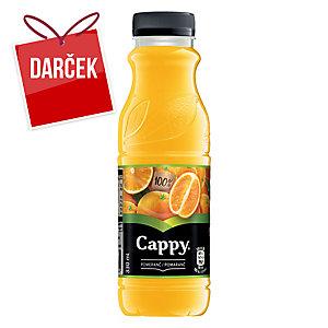 Džús Cappy pomaranč 100 %, 0,33 l, 12 kusov