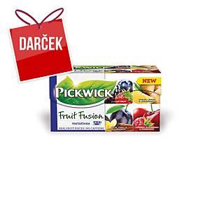 Čaj Pickwick Ovocné variácie, 20 vrecúšok á 2 g