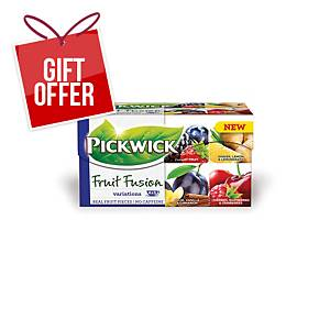 PK20 PICKWICK TEA BAGS FASCINATION/PLUMS