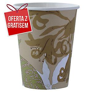 Kubeczki papierowe DUNI biodegradowalne, 240 ml, 50 sztuk