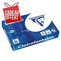 Papier blanc A4 Clairefontaine Clairalfa - 80 g - ramette 500 feuilles
