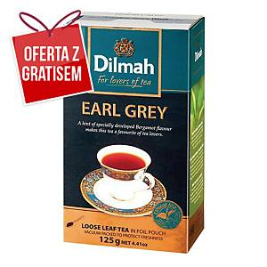 Herbata liściasta DILMAH Earl Grey, 125 g