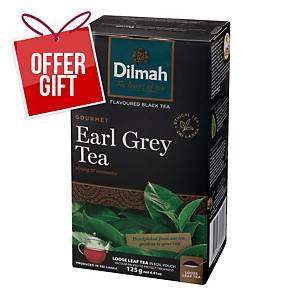 DILMAH LEAF EARL GREY TEA 125G
