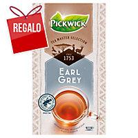 Caja de 25 bolsitas de infusión de té negro con aroma a bergamota