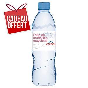 Eau Evian 50 cl - plateau de 24 bouteilles