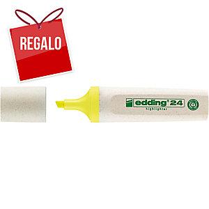 Marcador fluorescente amarillo EDDING ECOLINE 24