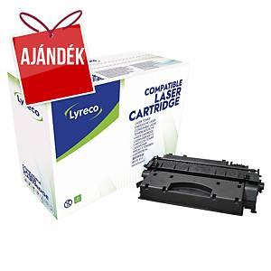 Lyreco kompatibilis toner lézernyomtatókhoz HP 05X (CE505X), fekete