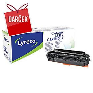 Toner Lyreco kompatibilný HP CC530A a Canon 718 BK čierny do las. tlačiarní
