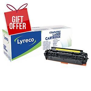 Lyreco Hp Cc532A Compatible Toner Cartridge Yellow